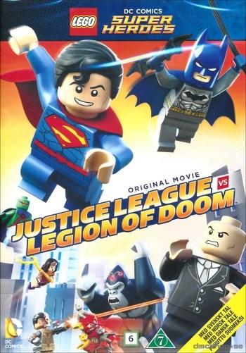Lego DC Comics Super Heroes - Attack of the Legion of Doom (film)  Warner Home Video