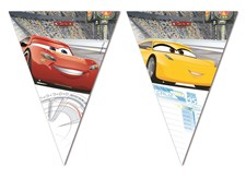 Disney Cars 3 Flagg-Banner