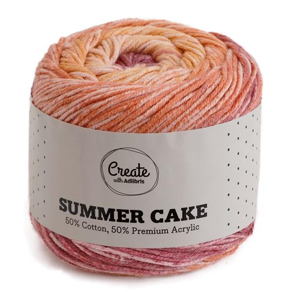 Adlibris Summer Cake 100g Sunrise B131