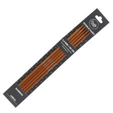 Strømpepinner 4,5mm Bambus 20cm