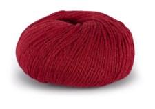 Du store Alpakka Sterk Alpakkavilla Mix 50 g tumman punainen 819