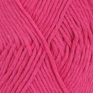 Drops, Cotton Light Uni Colour, Garn, Bomullmiks, 50 g, Rosa 18