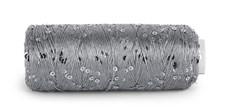 Du Store Alpakka Bling Effekttråd 50 g Sølvgrå 3006