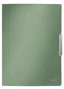 Snoddmapp Style 3-Klaffar A4 150 Ark Celadongrön