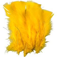Dun, L: 11-17 cm, 18 bunter, gul