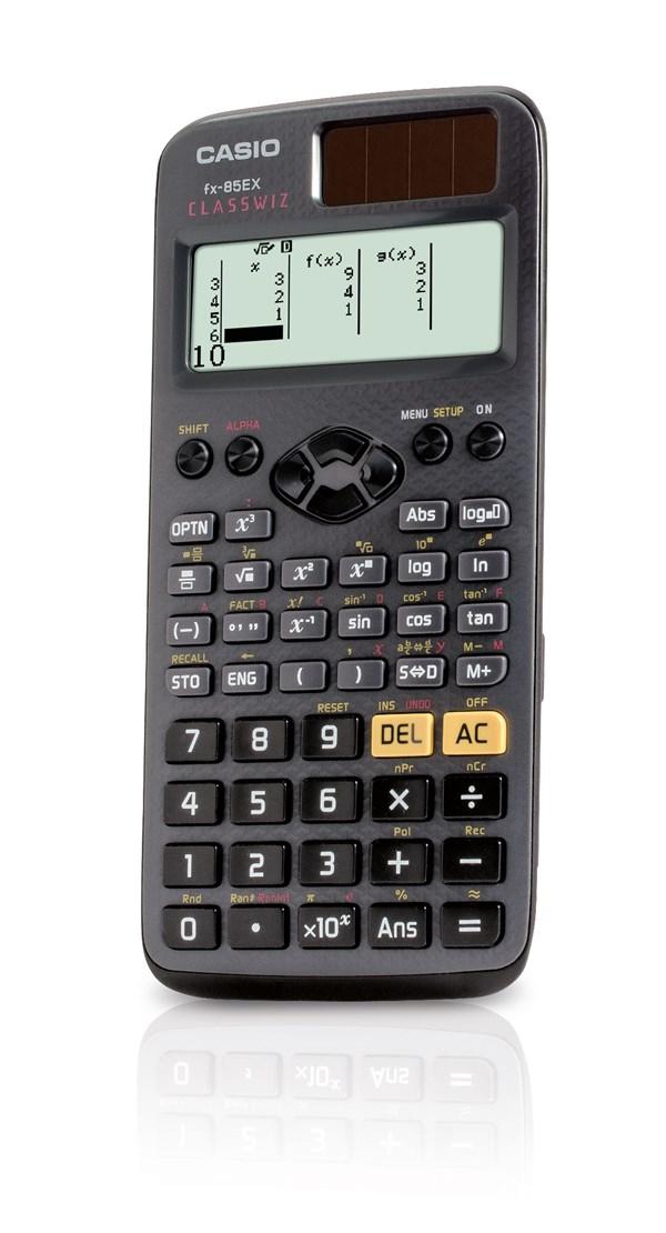 Teknisk kalkulator, Casio FX-85EX Classwiz
