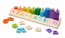 Counting Shape Stacker, Melissa & Doug