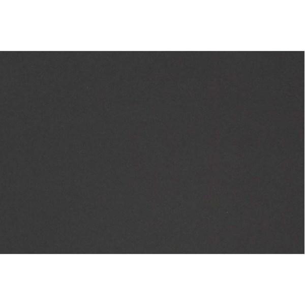 Kulørt kartong, A2 420x600 mm, 180 g, 10 ark, kullsort