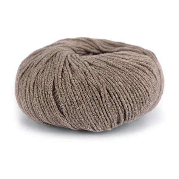 Knit At Home Classic Cotton Merino Ullmix 50 g Brun Melert 808