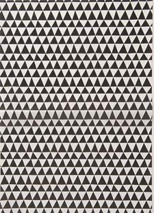 Decoupagepapir Triangler Svart/Hvitt 1 Ark