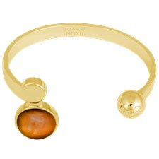 Ioaku Moon Cuff Alloy Gold/Conjac