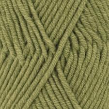 Drops Big Merino Uni Colour Garn Ullgarn 50g Olive 13
