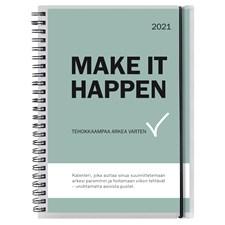Kalenteri 2021 Make It Happen A5 Burde