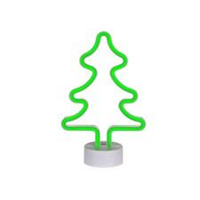 Neonlampe Juletre