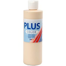 Plus Color-askartelumaali, 250 ml, kerma