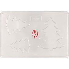 Støpeform, str. 6+8+10 cm, utv. mål 14,9x22 cm, 1 stk.