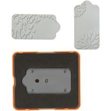 Skärschablon och Tryckplatta 10x12 cm 1 Set