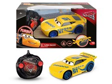 Disney Cars 3 Radio-ohjattava Auto RC Turbo Racer 1:24 Cruz