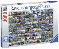99 Beautiful places of Europe, Pussel 3000 bitar, Ravensburger