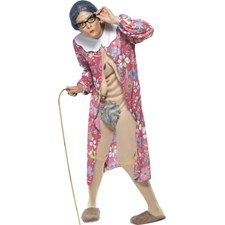 Gravity Granny Kostyme