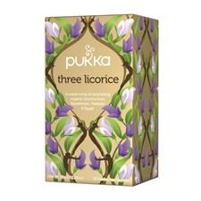 Pukka Te Three Licorice Tepåsar 20 st Ekologisk
