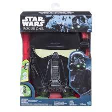 Death Trooper, Elektroninen ääntämuuttava naamio, Rogue One