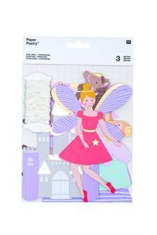 Girlander, Prinsesse, 3 m, Rico Design