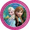 Disney Frozen -lautaset, 8 kpl