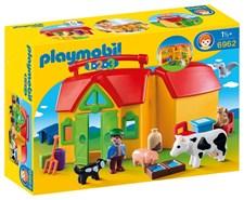 Min bärbara bondgård, Playmobil 1.2.3 (6962)