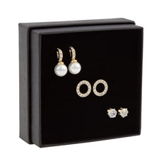 SNÖ of Sweden Gift Ear Set Astrid Gold