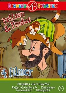 Pettson & Findus Box (4-disc)