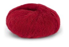 Du Store Alpacka Faerytale Garn 50 g Röd 711