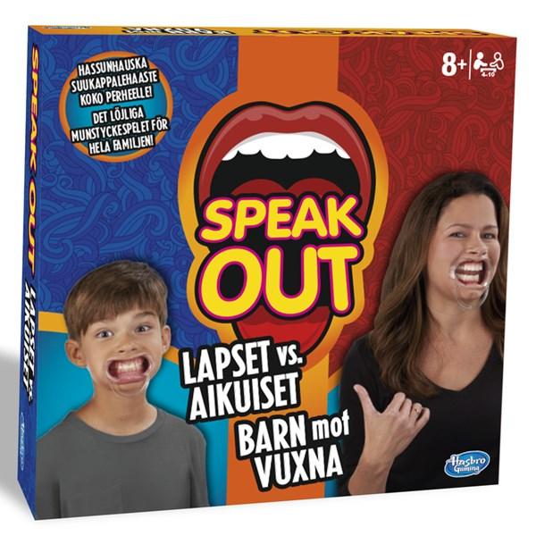 Speak Out Kids vs. Parents, Hasbro (SE/FI)
