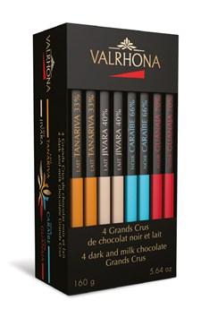 Valrhona Chokladbox Grand Cru 8x20 g Mix