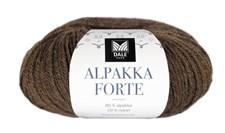 Dale Garn Alpakka Forte Garn 50 g Varm brun melert 709