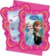 Disney Frozen -kutsukortit, 6 kpl
