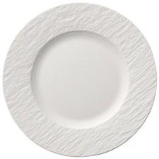 Villeroy & Boch Manufacture Rock Blanc Tallrik Dia 22 cm Vit