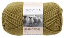 Novita Nordic Wool Lanka Villasekoite 50 g, sammal 337