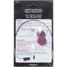 Kabel med Ändstoppar till 40 cm Rundstickor