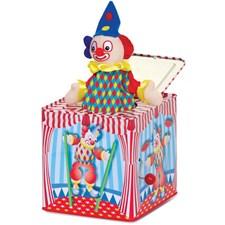 Clown, Jack in the Box, Speldosa