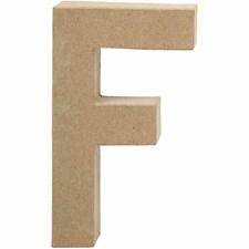 Kirjain, kork. F 20,5 cm, paksuus 2,5 cm, 1 kpl