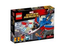 Captain America jetjakt, LEGO Super Heroes (76076)
