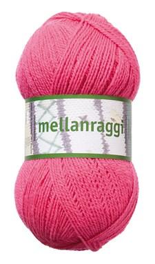 Mellanraggi Garn Ullmix 100g Ceriserosa (28214)