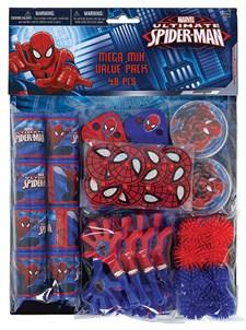 Spiderman, Gavepose med innhold, 48 deler