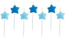 Tårtljus Stjärna, Blå, Jabadabado