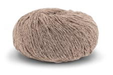 Knit At Home Classic Alpaca Wool Garn Ullmix 50 g Beige Melert 506
