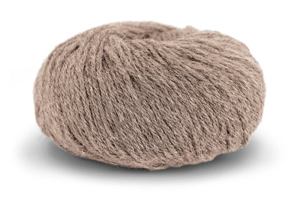 Knit At Home Classic Alpaca Wool Garn Ullmix 50 g Beige Melert 506