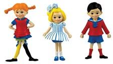 Pippi, Tommy og Annika