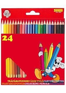 Färgpennor 24 Färger
