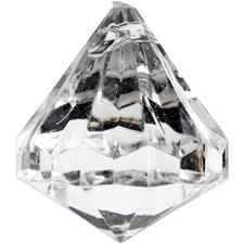 Prisma Diamantslipad 27x30 mm Blank Transparent 8 st